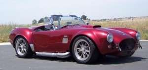 Original 427 Cobra like the one I saw in Scotland in 1967.